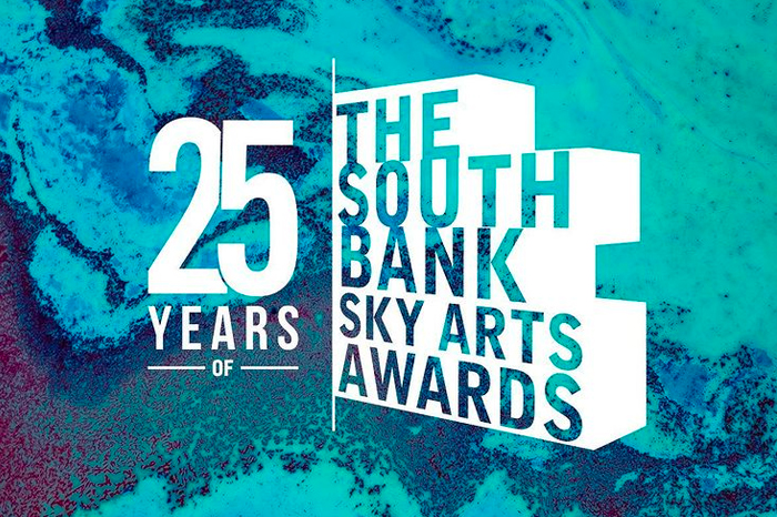 Sky Arts South Bank Awards branding by 6rs
