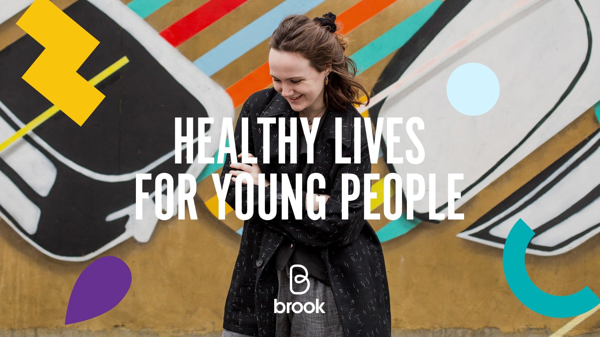 Brook healthy lives for young people tagline image